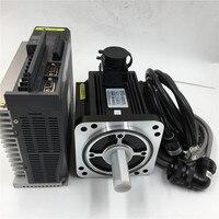 AC220V Servo Motor 2.3KW & Driver 15N.m 1500rpm & 3M Encoder Cable Power Cable CNC Kit MS 130ST M15015B 22P3+DS3 22P3 PQA