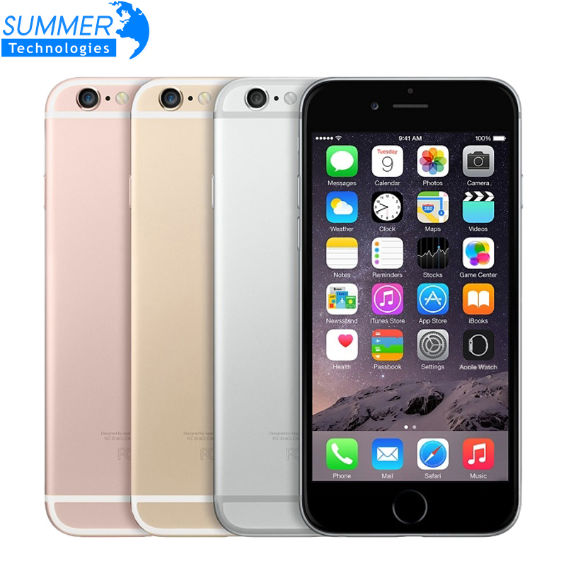 Original Unlocked Apple <font><b>iPhone</b></font> <font><b>6S</b></font> Mobile Phone IOS 9 <font><b>Dual</b></font> Core 2GB RAM 16/64/128GB ROM 4.7'' 12.0MP Camera 4G LTE Smartphone image