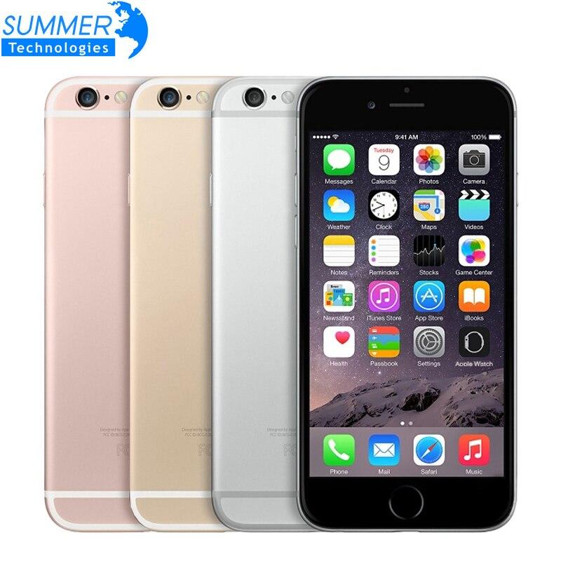 Original desbloqueado Apple iPhone 6 6S teléfono móvil IOS 9 Dual Core 2GB RAM 16/64/128GB ROM 4,7