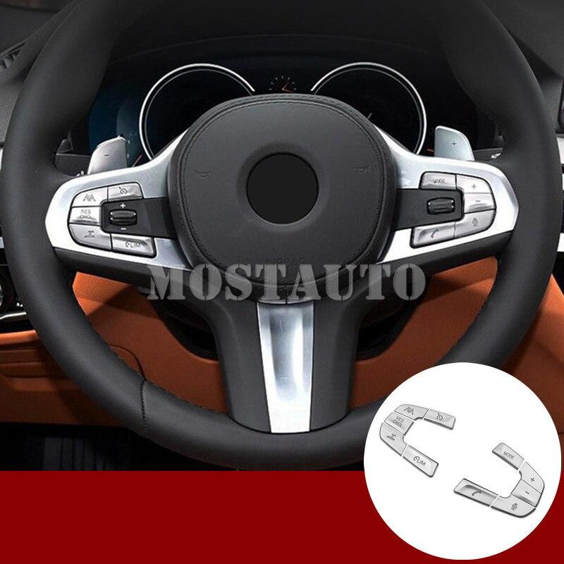 For BMW 5 Series G30 G31 Inner Steering Wheel Button Trim