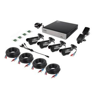 Image 2 - ZOSI 8CH 1080P HD TVI Telecamera di Sicurezza CCTV Sistema di P2P Visione Notturna di IR 4PCS 2.0MP HD Esterno Telecamera di Sorveglianza kit APP Vista