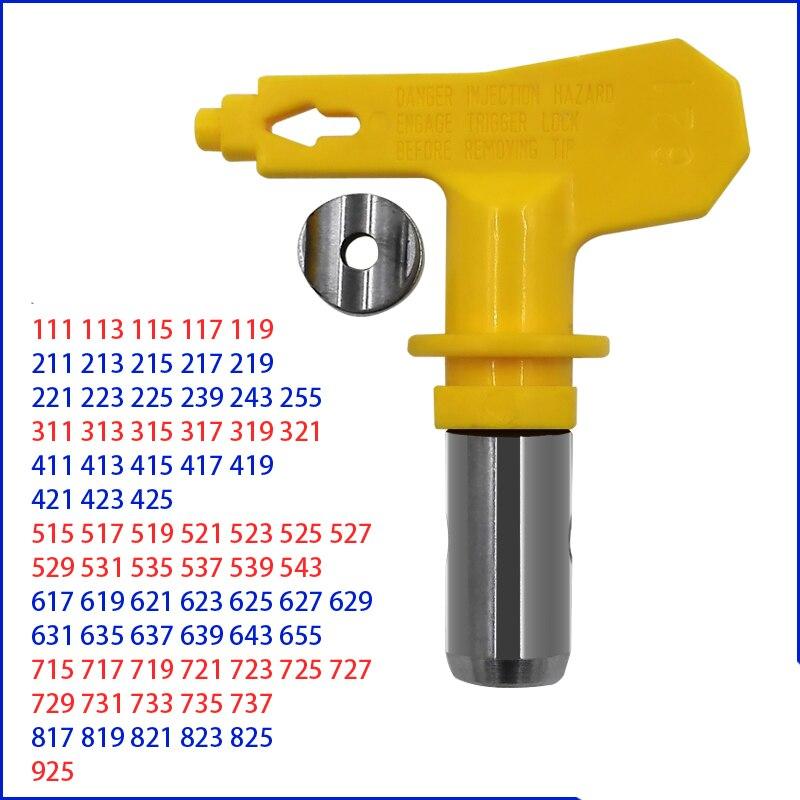 1PCS 735-925 737 817 819 821 823 825 High-pressure Airless Spray Gun Nozzle Sprayer Machine Accessories Paint Gun Precise Tip