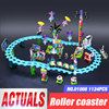 Building Block Model 01008 Compatible With Friends Amusement Park Coaster 41130 Brick Figure Educational Toy For