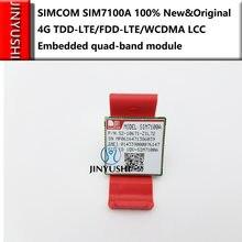 Simcom sim7100a sim7100 4g 100% novo & original TDD-LTE/FDD-LTE/wcdma lcc incorporado módulo quad-band