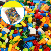 1000 Pieces Building Blocks Compatible All City DIY Creative Bricks Bulk Model Figures Educational Kids Toys for Children 450pcs classic idea city building block creative bulk figures diy set brick educational kids toys compatible with all brand
