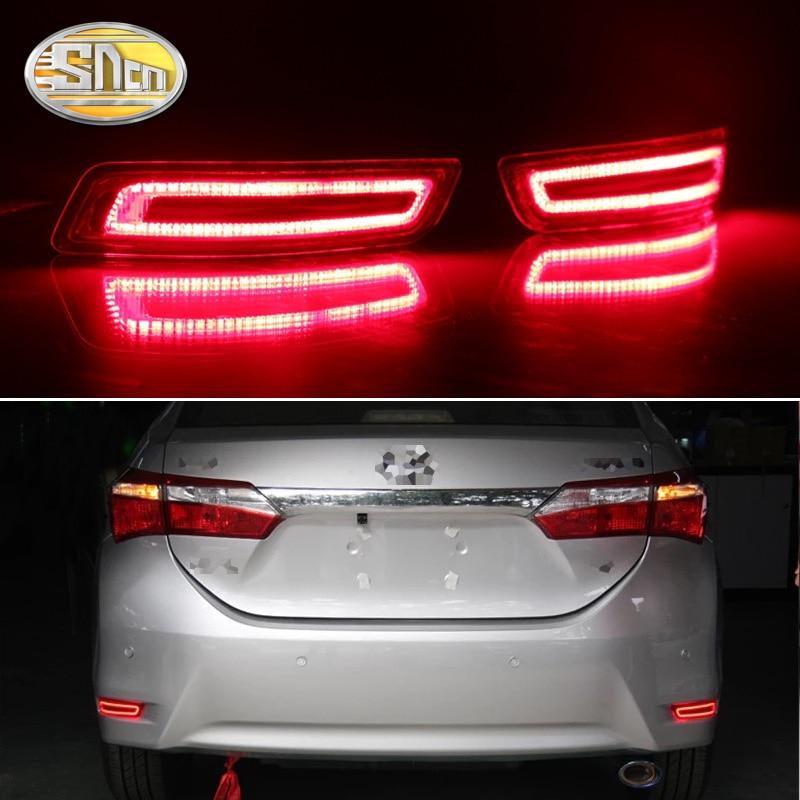 Aliexpress Com   Buy 2pcs Led Rear Fog Lamp For Toyota