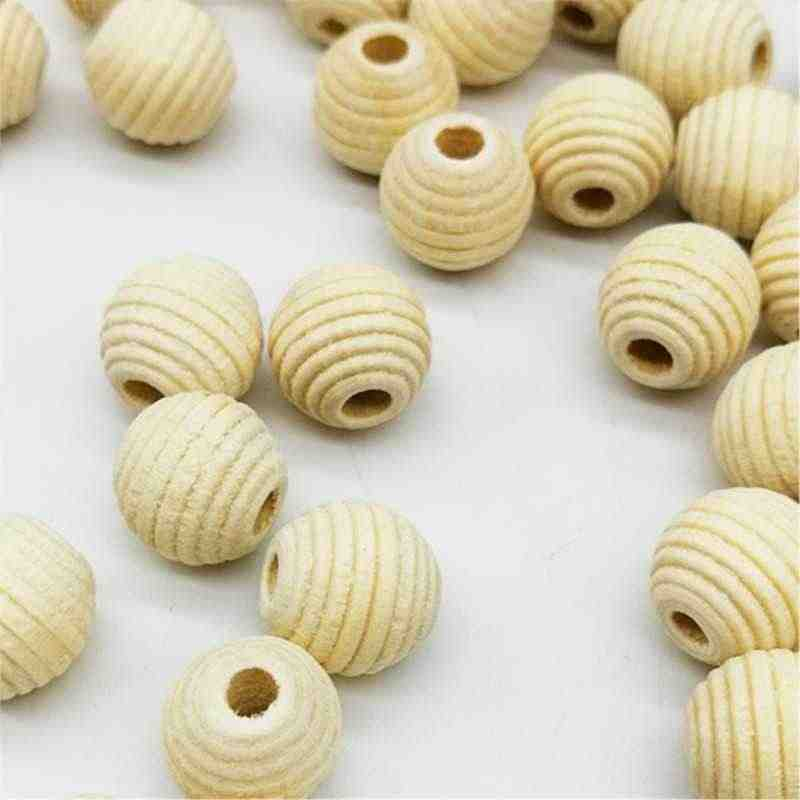 DIY 30pcs/lot 12mm Cheap Beads Round Shape Wood Fashion Handmade Beads Accessories For jewelry Necklace Bracelet Wholesale