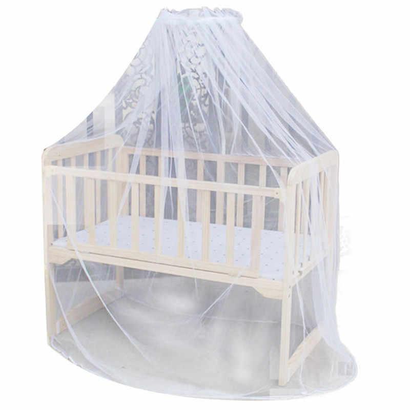 Новый комаров бар Детские Детская кроватка кровать для малыша или балдахин для детской кроватки дома мать Москитная сетка Белый P0.2