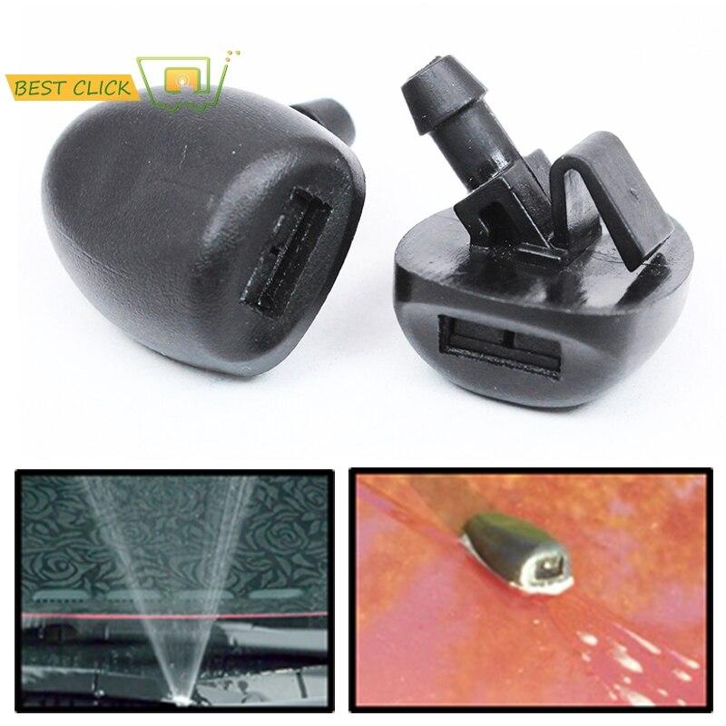 Misima x2 limpador de para-brisa frontal, bocal de lavagem para limpeza a jato para peugeot 407 206 2007 2008 2009 2010 2011 2014 2015 2016