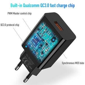 Image 5 - Jellico carga rápida 3.0 rápido carregador do telefone móvel para o iphone viagem ue plug adaptador de carregador usb parede para samsung xiaomi huawei