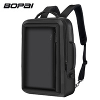 BOPAI Multifunction Backpack Enlarge Anti Theft Laptop Backpack USB External Charge 15 6 Inch Men School