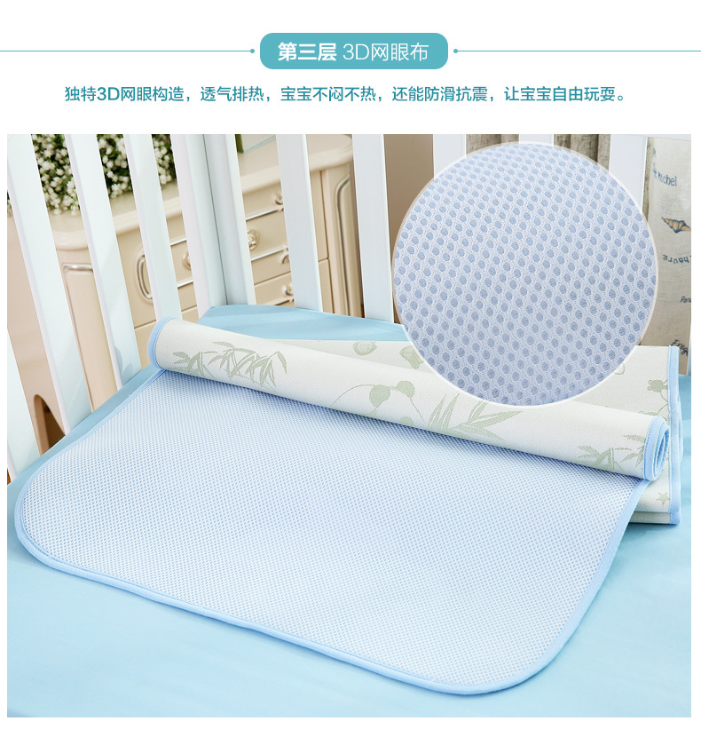 Baby Changing Pad Cover Strong Absorbent&Breathable Portable Foldable Washable Bamboo Fiber Waterproof Baby Summer Changing Mat (11)