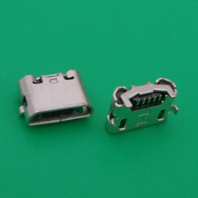 Joystick Power-Charger-Socket Repair-Replacement Wireless-Controller 50pcs/Lot Micro-Jack-Connector