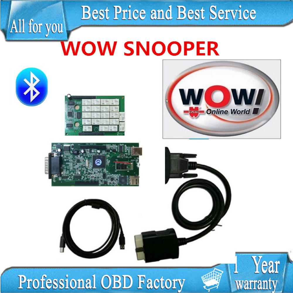 Prix pour Ne-c RELAIS 2017 WOW CDP SNOOPER Bluetooth avec boîte nouvelle apparence v5.008 R2 version livraison active VD tcs cdp pro
