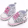 New fashion Baby walking shoes baby shoes soft sole canvas baby shoes slip-on toddlers first walkers boys girls footwear Leopard