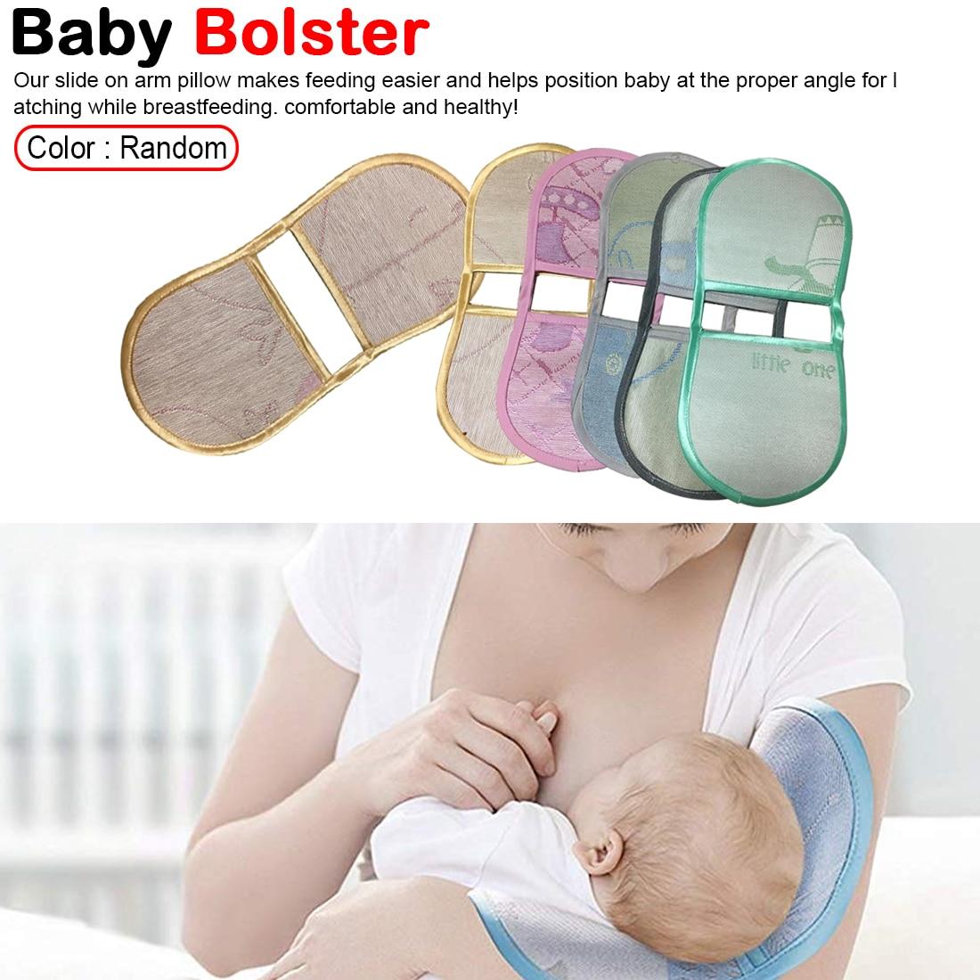 Random Color Hot Summer Protection Babycare Breastfeeding Arm Mat Nursing Sleep Cool pillow Newborn Sleeping Ice Pillow Mat Pad in Pillow from Mother Kids