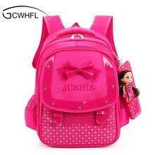 Cute Girls Backpacks Kids Satchel Children School Bags For Girls Orthopedic Waterproof Backpack Child School Bag