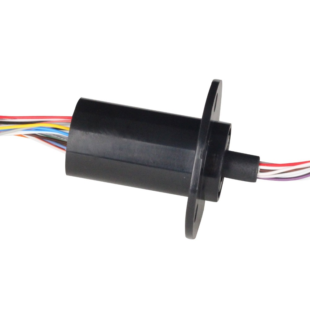 DHL FEDEX FREE Ship 22MM  24 Circuits 2A Capsule Slip Ring 24 Conductors rotary electrical collector  electrical interfaces
