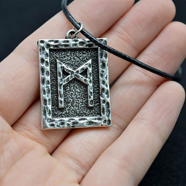 Online Shop Mcsays Norse Viking Jewelry Viking Rune Meaning Man