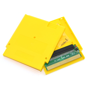 Image 5 - For FC 60 Pin to NES 72 Pin Adapter Converter with Cartridge Shell Case and Screw for NES