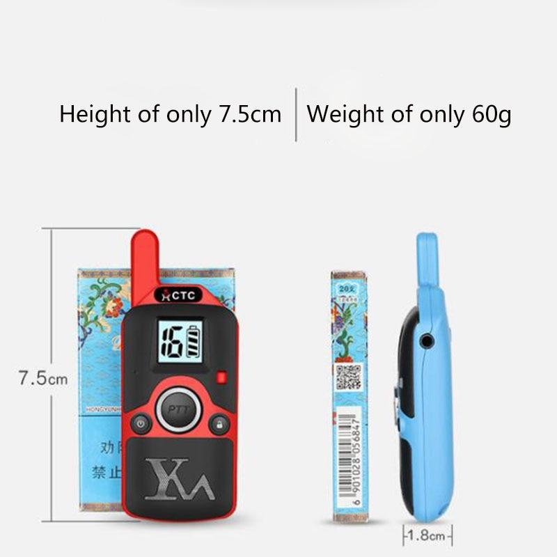 2pcs Wholesale Children Mini Kids UHF Walkie Talkie BF-T3 Baofeng FRS Two Way Radio Comunicador T3 Handy Talkie Hf Transceiver (5)