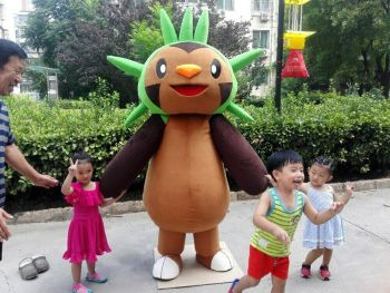 Chespin Mascot Costume Suits Cosplay Party Game Dress Outfits Clothing Advertising Carnival Halloween Xmas Easter Festival Adult image