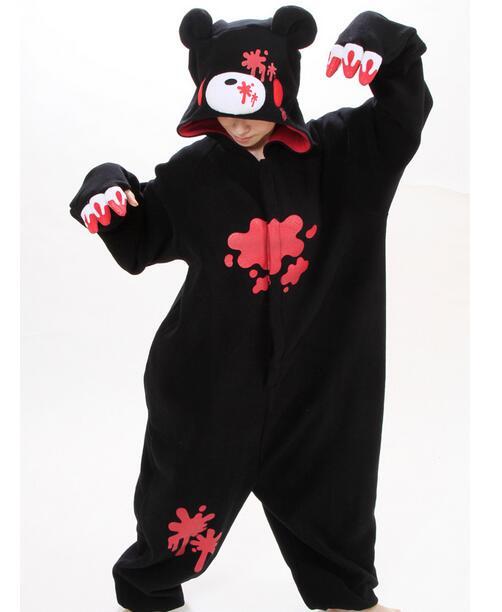Gloomy Bear Pajamas Anime Cosplay Costume Unisex Adult Onesie Sleepwear NL1231