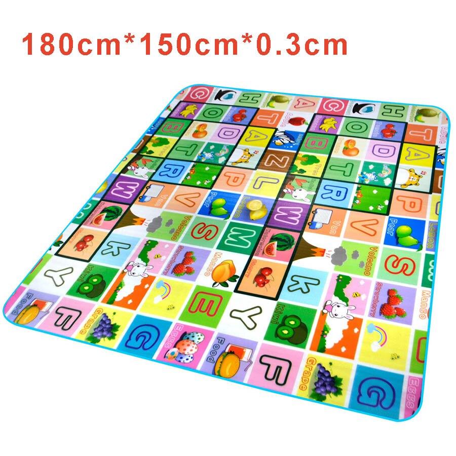 Letter Patterns Infant Children Games Playing Blanket For Kids Floor Mat  Dancing Carpet Educational Rug Playmat