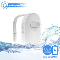 Coquimbo USB Rechargeable Motion Sensor Toilet Seat Lighting 12 LEDs Waterproof IP67 Backlight For Toilet Bowl