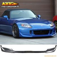 FOR 04 09 Honda S2000 AP2 OE Factory Style Black Urethane Front Bumper Lip Spoiler