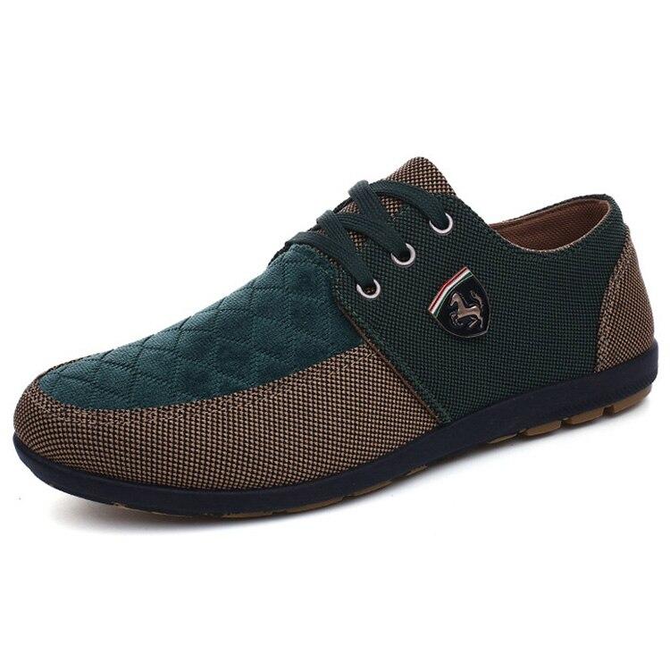 HTB1iO3oaifrK1RjSspbq6A4pFXaC 2019 Shoes Men Flats Canvas Lacing Shoes Breathable Men Casual Shoes Fashion Sneakers Men Loafers Wholesale Men 39 S Shoes