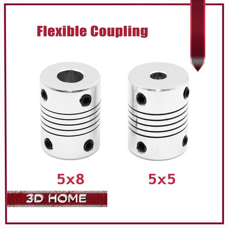 1 Unid Impresora 3D Stepper Motor Flexible Coupling acoplamiento/Acoplamiento De