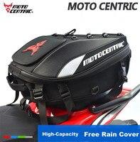 MOTOCENTRIC Waterproof Motorcycle Helmet Bag Luggage Bike Motorcycle Bag Motocross Tank Racing Shoulder Backpack