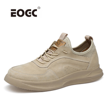 Fashion Men Sneakers for Men Casual Shoes Breathable Lace up Flats Shoes Spring Leather Lightweight Outdoor Shoes Men Zapatos lttl new fashion rivets sneakers men leather shoes breathable lace up mens shoes casual flats handmade outdoor basic men shoes