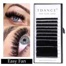 851e0dee310 TDANCE Easy Bloom Eyelash Extension Austomatic Flowering Fast Self-Making  Fans Lashes