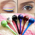 5 colores la forma del Lollipop estética líquido impermeable delineador de ojos color de ojos del maquillaje