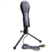 Professional USB Condenser Microphone For Computer Video Recording Karaoke Radio Studio Microphone With Holder Stand