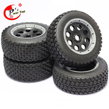 King Motor Baja T1000 Buster wheel tire tyre set for HPI BAJA 5T Parts Rovan Free