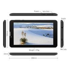 "Yuntab 7"" E706 GPS Tablet Double SIM Mini Card 1.3GHz Quad Core Cortex A7 1024*600 IPS Dual Camera 1GB+8GB Phone Call Tablet PC"