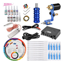 Rotary Tattoo Machine Tatoo Tatuaje Supplies Kit Maquina De Tatuagem Tatouage Rotative Tatuagens