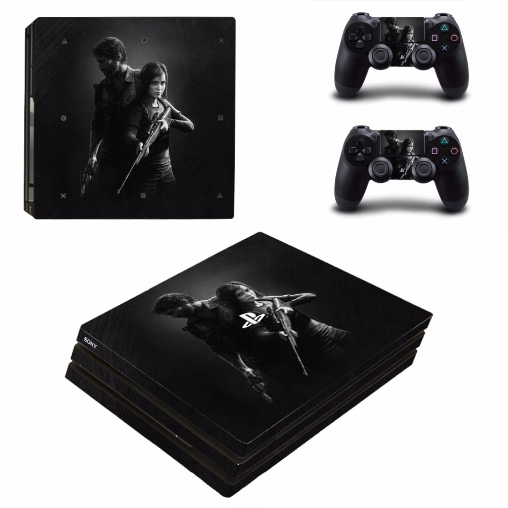 THE LAST OF US PS4 Pro Skin Sticker For Sony PlayStation 4 Console and 2 Controllers PS4 Pro Stickers Decal Vinyl