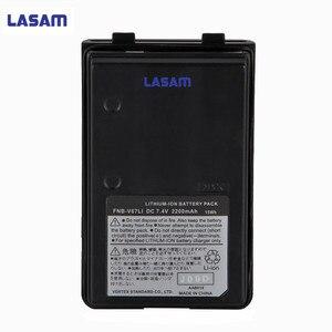 Image 1 - LASAM DC 7.4V FNB V67LI  2200 mah lithium ion walkie talkie battery pack for VX VX VX 210A vx VX VX 400 VX 420 HX270 HX 370S