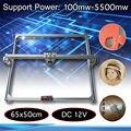 65x50 см 100 мВт-5500 МВт DIY Настольная мини лазерная резка/гравировка гравер машина DC 12 В резак для дерева/принтер/мощность регулируемый