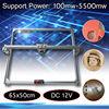 65x50cm 100mw 5500mw DIY Desktop Mini Laser Cutting Engraving Engraver Machine DC 12V Wood Cutter Printer