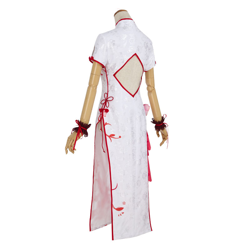 Juego Azur carril unicornio Cosplay disfraz mujer Delux brocado satén Cheongsam vestido chino Halloween carnaval uniformes - 3