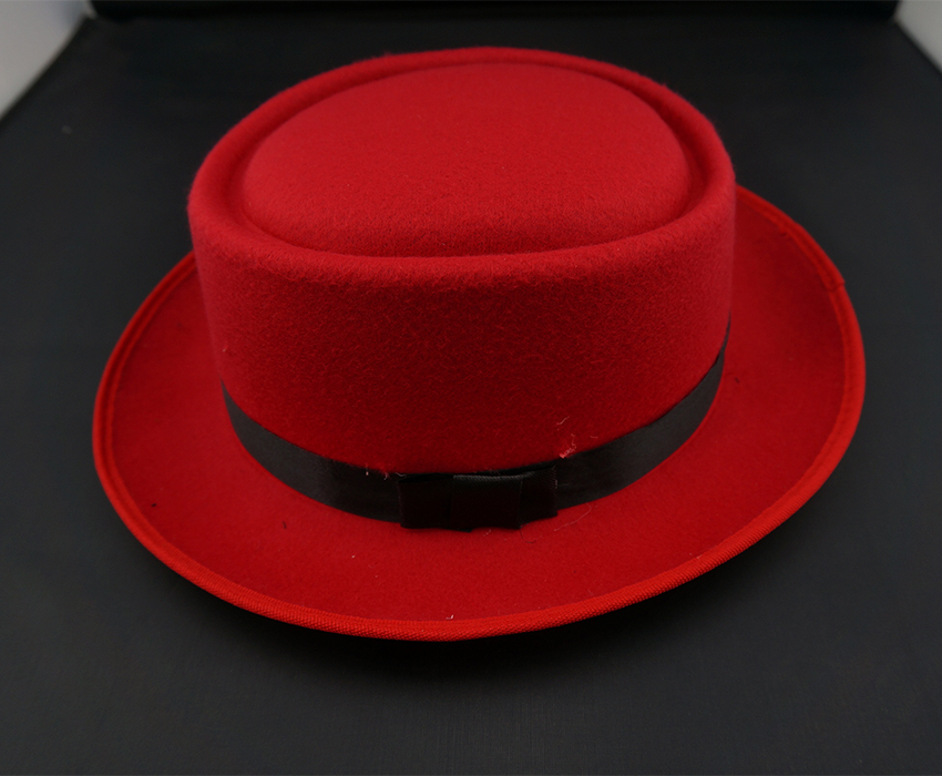 High Quality red navy fedora felt hat Black Panama hat men vintage jazz  cool brim classic trilby hat 2015 solid-in Fedoras from Apparel Accessories  on ... 0629d443760
