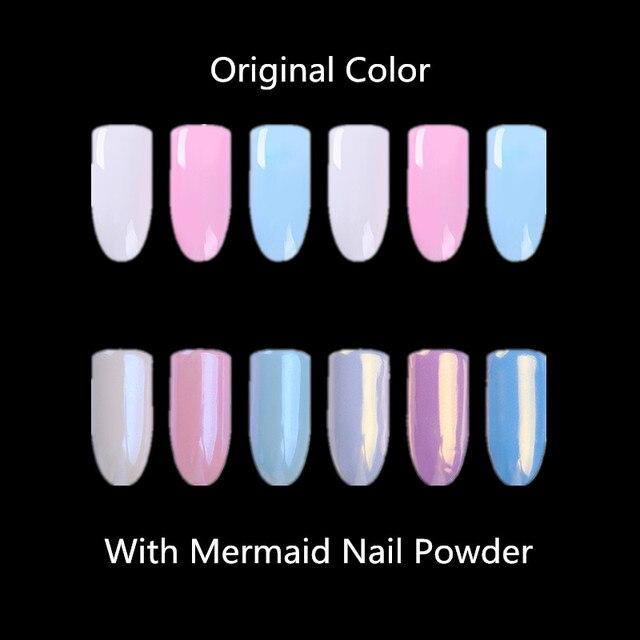 Born pretty perla sirena Brillos de uñas shimmer Glimmer Conchas ...