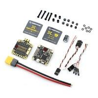 HobbyWing COMBO XRotor F4 Controllore di Volo MicroCube & 40A 4-in-ESC 2-5 S BLHeli_S DShot600 per RC FPV Drone Quadrocopter