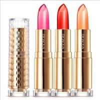 3pcs Bioaqua Good Quality Batom Jelly Lipstick Long Lasting Moisturizing Nutritiousing Maquiagem Lipgloss