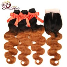 Pinshair Ombre Brazilian Hair Body